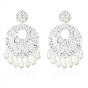 NWT Kenneth jay lane gypsy earrings